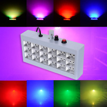 Fashion Big Power 30W Party Light 18 RGB LED Ball Projector Stage Strobe Lights DJ For Club Disco KTV Party(China)