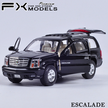 1/24 Scale WELLY Car Model Toys Cadillac ESCALADE Diecast Metal Car Model Toy For Collection Gift Decoration