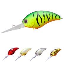 1PCS 9cm 12g Floating Fishing Lures Deep Diving Japanese Wobbler Crank Bait Bass Pike Crankbait wIth Hook(China)