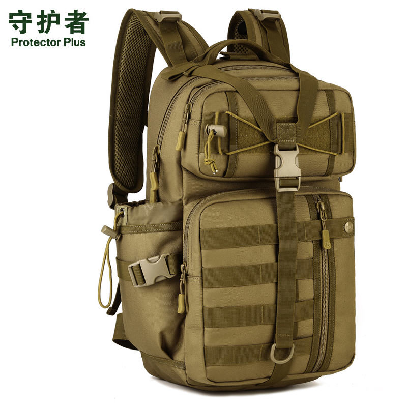 30 Liters Attack Backpack Army Fans Fans Camouflage Shoulder Bag Travel Bag Mountaineering Bag A2674~1<br>