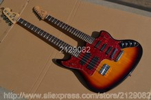 Double neck guitar 4 strings bass & 6strings electric guitar 2013 New Style