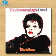 Huge Andy Warhol JUDY GARLAND (FROM ADS) pop art print Wall Painting picture Home abstract Decorative Art Picture Prints