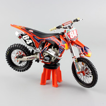 1:12 mini scale KTM SXF 250 No.84 redbull racing enduro Motocross SUPERMOTO Motorcycle Diecast metal model gift Replica car toys