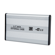 "New Superior Practical Plastic 2.5"" USB 2.0 SATA Hard Drive HDD Case Enclosure"