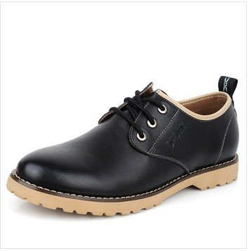 ZM696- Black Leasure Height Increase Elevated Shoes with Hidden Heels Gain Man Taller 6CM Sz38-43<br><br>Aliexpress