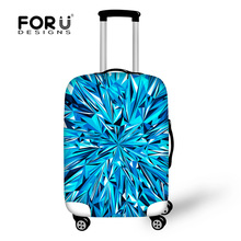 New Arrival 3d  Strentch Elastic Travel Luggage Protective Cover Suitcase 18-30 inch Case Dust Luggage Cover for Maleta Viaje