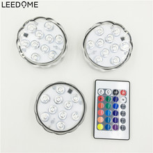 LED RGB Bulb Magic Light AAA Battery Lamp Power 5W Spotlight With IR Remote 24Key Controller For Holiday Party Pool Decoration