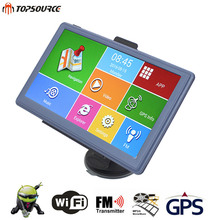 TOPSOURCE GPS android navigation HD 7'' Autombile Navigator 8GB DDR800MHZ Sat nav Capacitive Screen USA/Spain Map Free Upgrade
