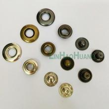 DIY60sets/lot 20mm 4 part brass metal button bubble snap button Italy snap fasteners free shipping black/nickle/Bronze and Tools(China)