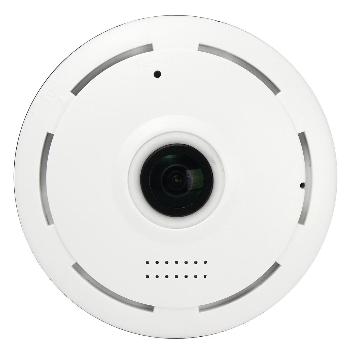 NEW Mini 360 Degree Wireless IP Camera Fisheye IR night vision 960P HD Panoramic  Surveillance CCTV Home Security<br>