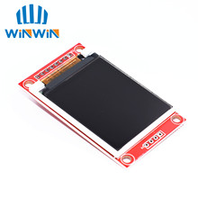 D02 1.8 inch TFT LCD Module LCD Screen SPI serial 51 drivers 4 IO driver TFT Resolution 128*160 1.8 inch TFT interface(China)