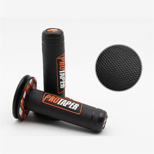 "High Quality Universal 7/8"" 22mm Motorcycle Rubber Handlebar Grip Handle Bar Motorbike Handlebar Grips Motorcycle Accessories(China)"