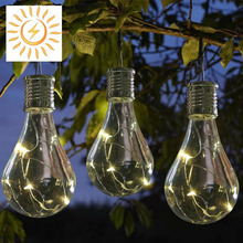 5 LED Solar Rotatable Waterproof Solar Hanging Light Lamp Indoor/Outdoor Commercial Garden Patio Camping Lamp Light APJ
