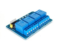 5PCS 5V 4 Channel Relay Module  PIC ARM DSP AVR Raspberry Pi