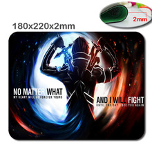 Tai hinh sword art online Mousepad Customize Your Own Rectangle Gaming Mat Quality Water Resistent Oblong Soft Gaming Mouse Pads(China)