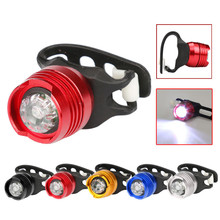 B2 New LED Bicycle Bike Front Rear Tail Helmet Flash Light Safety Warning Lamp Fine Bicycle Light Accessories Free Shipping(China)