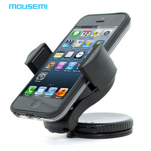MOUSEMI 360 degree spin Car Windshield Mount cell mobile phone Holder Bracket stand for iPhone for samsung Smartphone GPS Cars(China)
