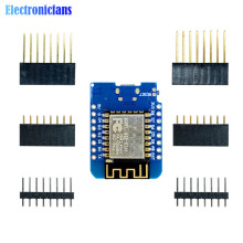 ESP8266 ESP-12 ESP-12F CH340G CH340 V2 USB WeMos D1 Mini WIFI Development Board D1 Mini NodeMCU Lua IOT Board 3.3V With Pins(China)