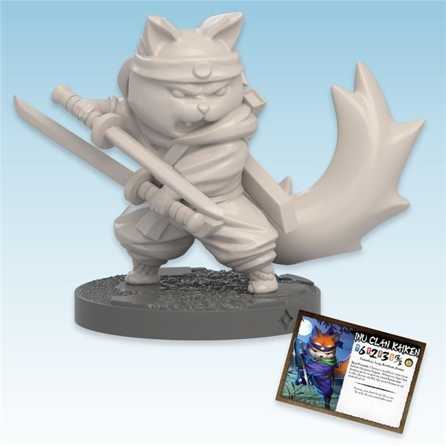 Ninja Division Publishing NJD010824 Ninja All-Stars Inu Clan Kaiken Division Publishing