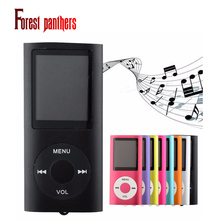"MP3 Music Player 4TH real 32GB Slim 1.8""LCD FM radio video Portable Player"
