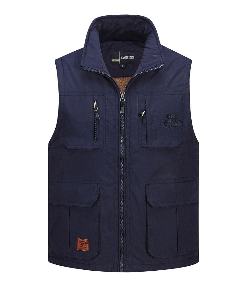 Summer pour Homme Mesh Respirant sans manches kaki Gilet Veste Jeans Fishing Vest