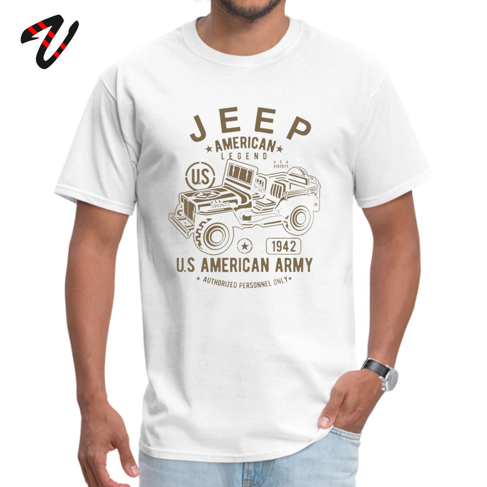 JEEP American Legend Army Fitness Tight _black Tops T Shirt for Men Cotton Fabric Round Neck Top T-shirts Europe Tshirts On Sale JEEP American Legend Army 1628 white