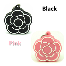 Fashion flower USB Flash drive  black rose Pen Drive Real capacity memory Stick  USB 2.0 disk 4gb/8gb/16gb/32gb lovely gift