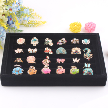 Rings Organizer Jewelry Display Ring Storage  Jewelry Box Jewelry Boxes And Packaging Ring Box Ring Display Jewelry Gift Box