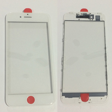 For iPhone 7 7 Plus AAA+ Quality LCD Front Outer Glass Lens Touch Screen Cover with Frame Bezel Assembly Housing Repair Part