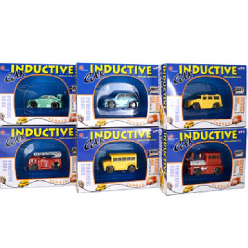 1pcs Mini Magic Pen Inductive Toy Car Model Series Puzzle Follow Any Line You Draw Toys For Children Boys Kids Birthday Gift 19