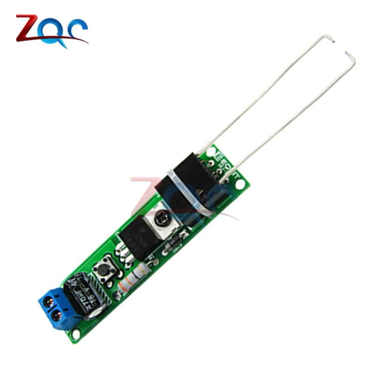 HV-1 High Voltage Igniter Kit Arc Ignition Parts DIY Kit Arc Generator Arc Cigarette Igniter Module PCB Board DC 3-5V 3A 6