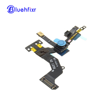 10 PCS/LOT New Front Small Camera For iPhone 5 Facetime Facing Proximity Sensor Ribbon Flex Cable Replacement Parts(China)