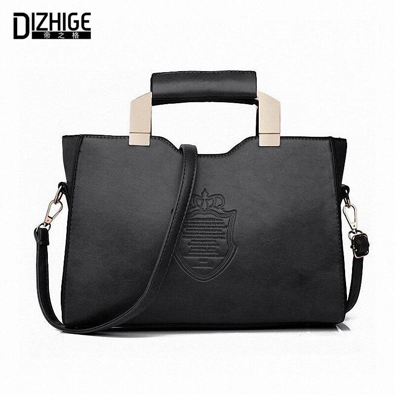 2016 Fashion Tote Bag Women Leather Handbags Sac De Marque Casual Designer Women Handbags High Quality Ladies Hand Bag Shoulder<br><br>Aliexpress