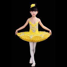 kid Professional Swan Lake Ballet Tutu ballet dress for Children Ballerina Dress Kids Ballet Dress girl Dancewear tutu skirt(China)