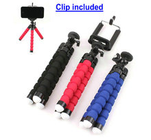 Tikigogo Portable Mini Tripod Flexible Support Stand Holder For Mobile Phone for gopro action camera mini projector etc.(China)
