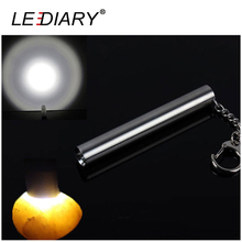 Super Bright Mini Torch Stainless Light LED Flashlight Seamless LED Torche Aluminum Cree Handy Lamp >240lm Max Distance100m(China)
