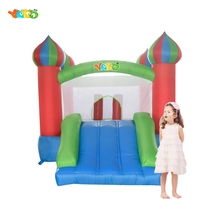 YARD Free Shipping Mini Bouncy Castle Inflatables Slide Bouncer Child Playground Happy Jumping Fun For Kids