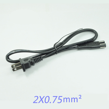 1.5m AC Power Cord Cable US 2-Prong Laptop AC Plug Adapter Lead 2 Pin Plug   Cable Charge Adapter PC