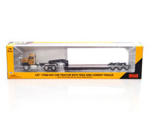 Norscot 55503 Cat Caterpillar CT660 On-Highway Truck with Lowboy Trailer 1/50