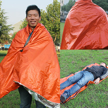 Outdoor Portable Emergency Sleeping Bags Light-weight Polyethylene Sleeping Bag for Camping Travel Hiking(China)