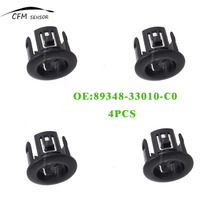 4PCS PDC Parking Sensor Retainer 89348-33010-C0 For Toyota Lexus ES350 HS250h