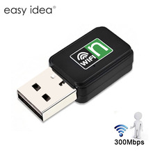 300Mbps USB WiFi Adapter Wifi Receiver External Wireless Network Card Portable Adaptador Wifi Dongle 802.11n/b/g