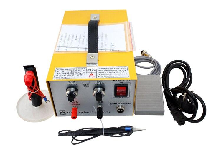 High Quality Charging Capability 110V/220V High-power Handheld Laser Spot Welders Welding Machine Jewelry Equipment<br><br>Aliexpress