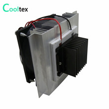 DIY Thermoelectric Cooler Cooling system semiconductor refrigeration system kit heatsink Peltier cooler radiator fans cooling(China)