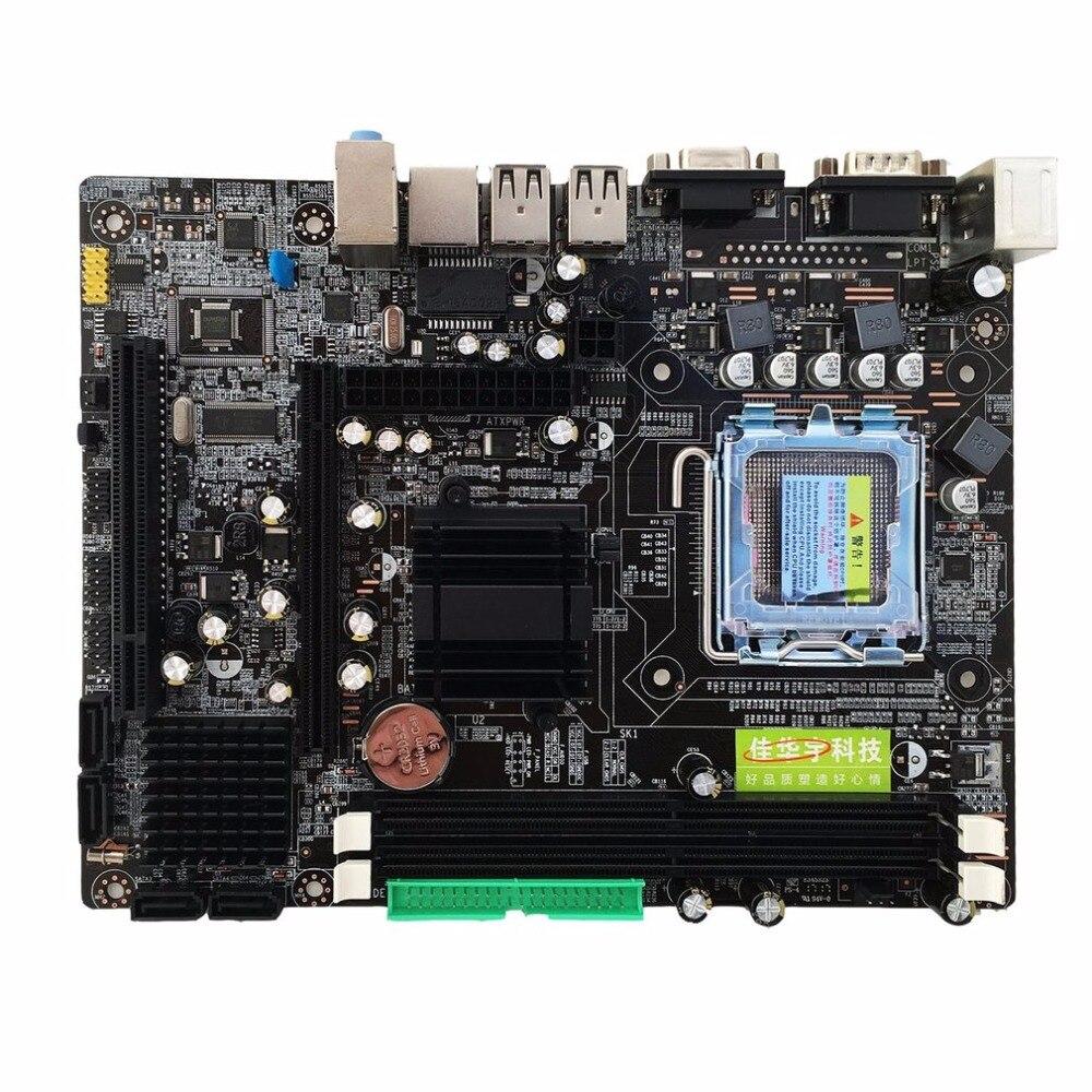 Интернет магазин товары для всей семьи HTB1jyU6ksUrBKNjSZPxq6x00pXaf Профессиональный 945 материнской 945GC + ICH Чипсет Поддержка LGA 775 FSB533 800 мГц SATA2 Порты двухканальный DDR2 памяти
