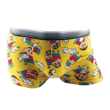 Sexy summer ice men boxer shorts men's cartoon underwear Comfortable breathable shorts print men underpants