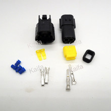 1 sets 2/3/4/6/8/10 Pin Way Waterproof Wire Connector Plug Car Auto Sealed Electrical Set Car Truck  connect