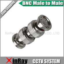 Free Shipping 10pcs BNC Male TO BNC Male,Camera DVR Connector Adapter,CCTV Accessories ,Wholesale XR-AC26