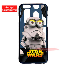 Minion Star Wars Cover Case for LG G3 G4 Samsung S3 S4 S5 Mini S6 S7 Edge Plus Note 3 4 5 iPhone 4 4S 5 5S 5C 6 6S 7 Plus iPod 5