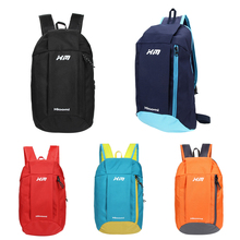 Outdoor Unisex Canvas Backpacks Portable Women School Backpacks for Teenage Girls Men 10L Sport Bicycle Backpack